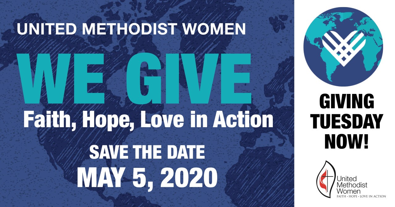 We Give - Save the Date - May 5